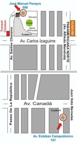 Dirección Insumos & Soluciones SAC Los Olivos La Victoria