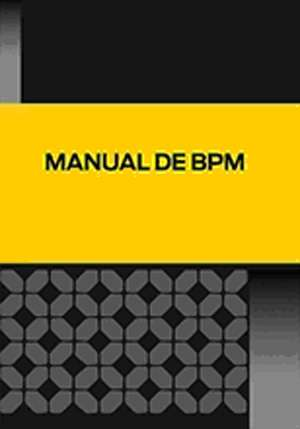 Manual de Buenas Practicas de Manufactura (BPM)