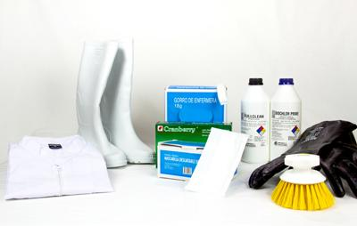 Productos para la limpieza y desinfección